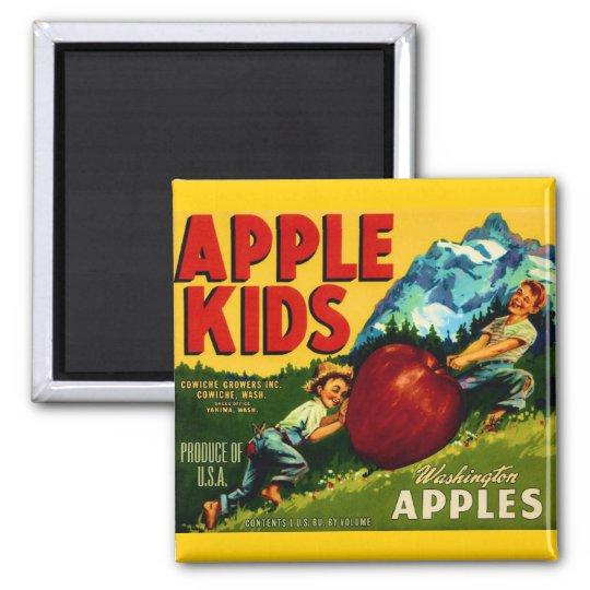 Apple Kids Magnet