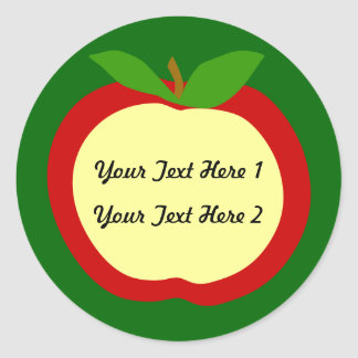 Apple Labels for Kitchen or Clasroom
