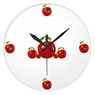 Apple Large Clock