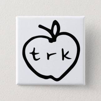 apple logo pin