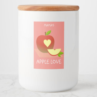 Apple Love Food Label