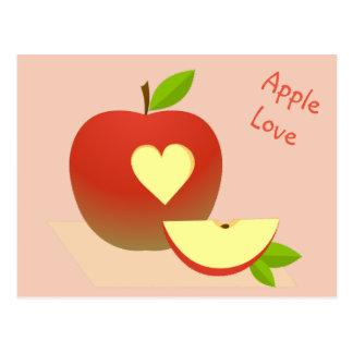 Apple Love Postcard