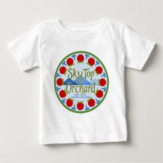 Apple Mandala - Blue Baby T-Shirt
