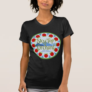 Apple Mandala - Blue T-Shirt