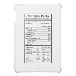 apple nutrition facts iPad mini cover