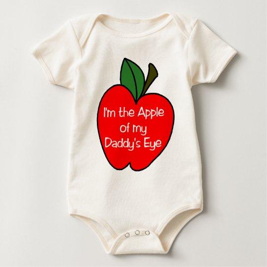Apple of Daddys Eye Baby Bodysuit