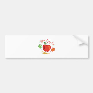 Apple Of Eye Bumper Sticker