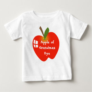 Apple of Grandmas Eye Baby T-Shirt