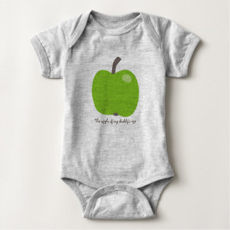 Apple of my eye baby bodysuit