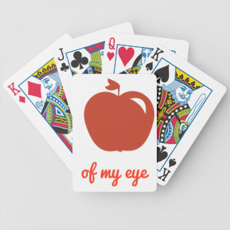 Apple of my eye merchandise bicycle playing cards