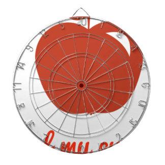 Apple of my eye merchandise dartboard