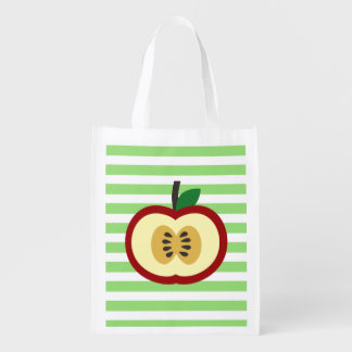 Apple of My Eye Reusable Grocery Bag