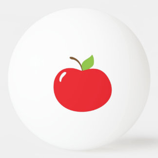 Apple of Your Eye Cartoon Ping Pong Ball