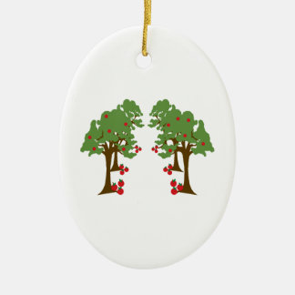 Apple Orchard Christmas Ornament