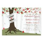 Apple Orchard Fall Autumn Rehearsal Dinner Invite