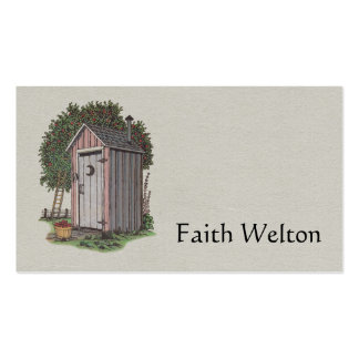 Apple Orchard Outhouse Double-Sided Standard Business Cards (Pack Of 100)