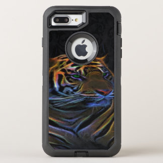Apple otterbox, iphone 6 plus case, neon tiger