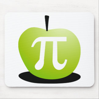 Apple Pi Mouse Pads