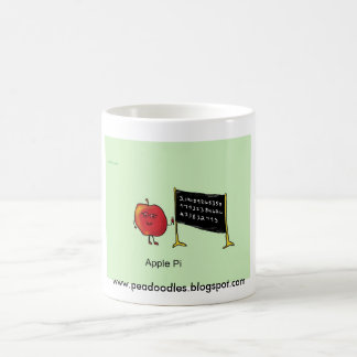 apple pi basic white mug