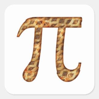 Apple Pi Square Sticker