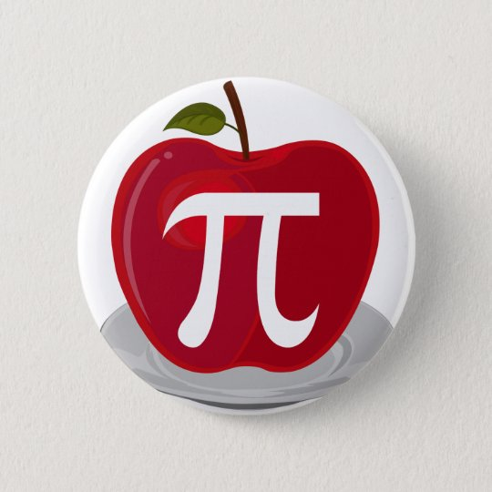 Apple Pie 6 Cm Round Badge