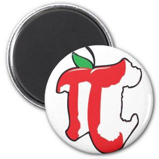 apple pie 6 cm round magnet