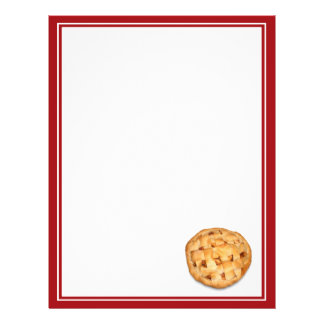 Apple Pie (Add Background Color) Custom Flyer