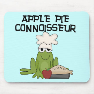 Apple Pie Connoisseur Tshirts and Gifts Mouse Pad
