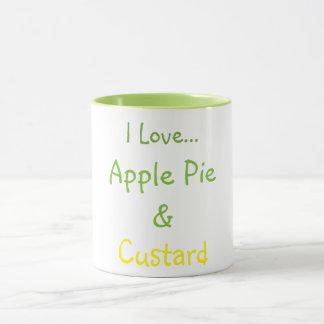 Apple Pie & Custard Mug