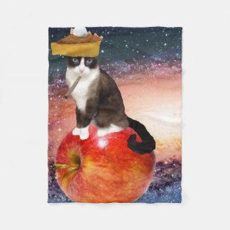 apple pie fleece blanket