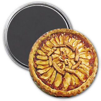 Apple Pie Food Magnet