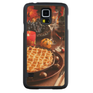 Apple Pie For Thanksgiving Carved Maple Galaxy S5 Case