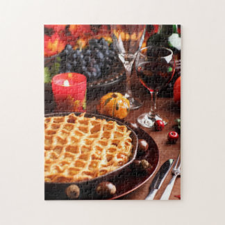 Apple Pie For Thanksgiving Jigsaw Puzzle