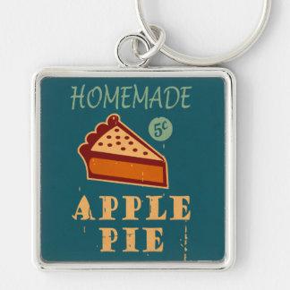 Apple Pie Key Ring