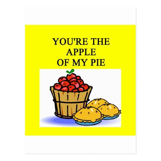 APPLE pie lovers Postcard