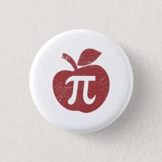 Apple Pie Pi Day 3 Cm Round Badge