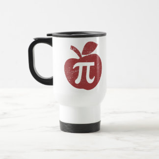 Apple Pie Pi Day Travel Mug