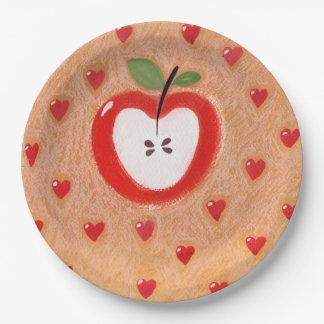 Apple pie plate