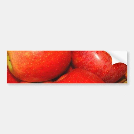Apple Pile Bumper Stickers