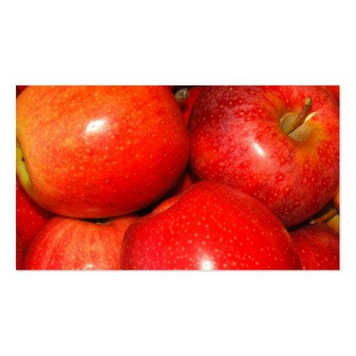 Apple Pile Business Card Template