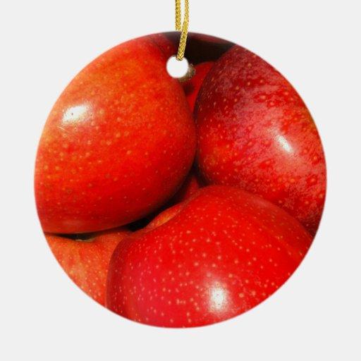 Apple Pile Christmas Tree Ornament