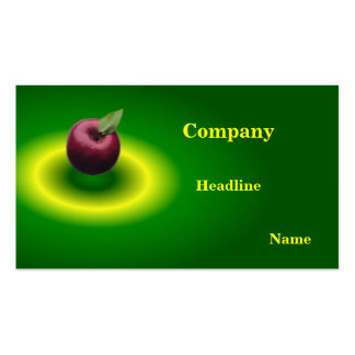 Apple Profile Card Business Cards