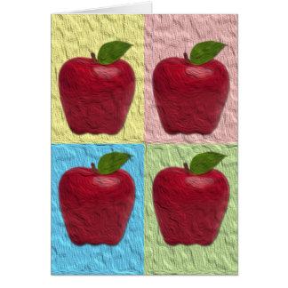 Apple Rosh Hashanah Greeting Card