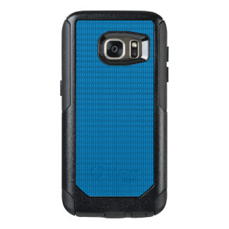Apple-Samsung-Cell-Cases_Sea-Blue-Plaid-Fancy OtterBox Samsung Galaxy S7 Case