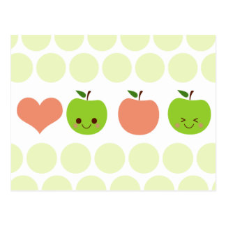 Apple Sass Post Card