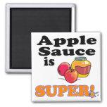 apple sauce is super square magnet
