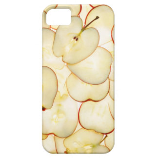 apple slices backlit and arranged in abstract iPhone 5 cases
