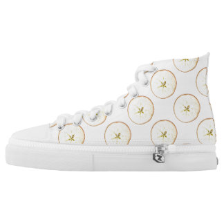 Apple Slices Zipz High Top Shoes