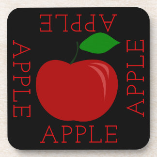 Apple Square Coaster