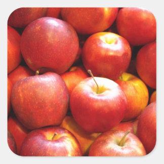 Apple Stand Square Sticker